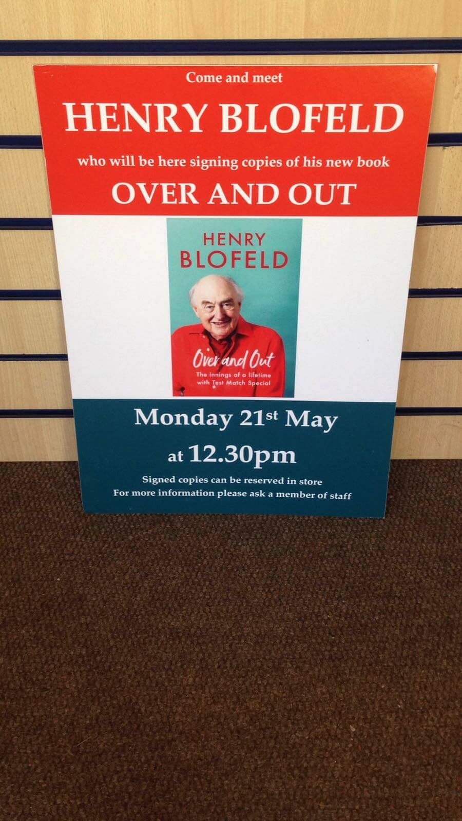 Blofeld coming to Henley