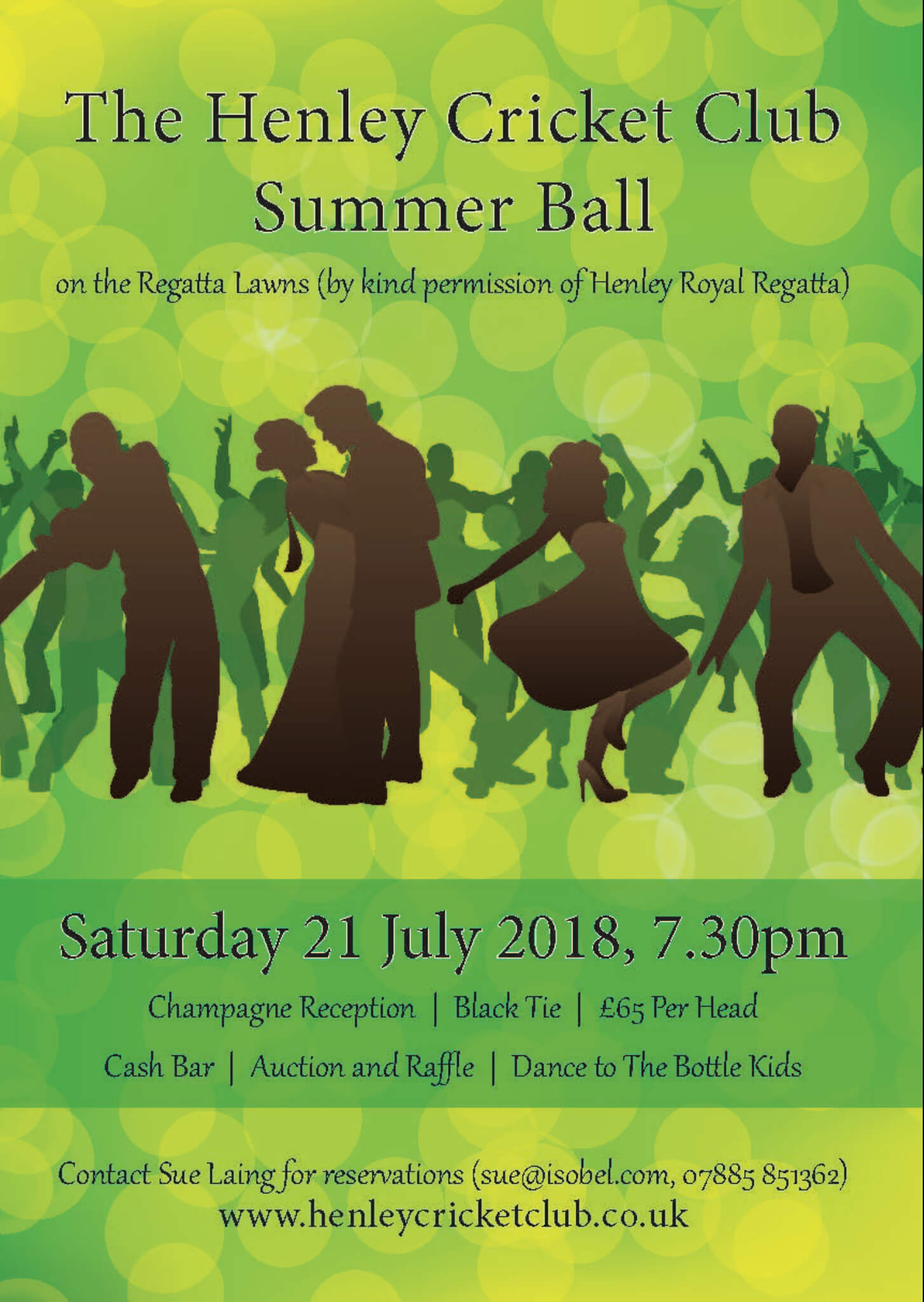 ​Henley Cricket Club Summer Ball